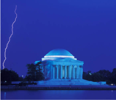 Jefferson Memorial Storm