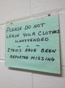 missing items sign