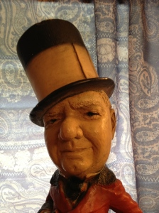 W. C. Fields close-up