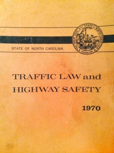 NC Traffic Law and Highway Safety cover copy